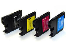 1 FULL SET [4 inks] of LC980/LC1100 Compatible Cartridges (Not Brother OEM)