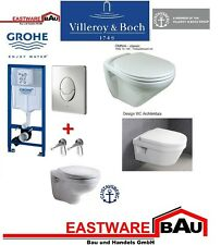 bati support wc suspendu grohe solido perfect plaque ebay. Black Bedroom Furniture Sets. Home Design Ideas