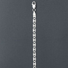 ITALY Sterling Silver VALE Chain Necklace-Vale Chain Necklace-Whale Chain