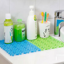 Candy Color Bathroom Safety Non-slip PVC DIY Bath Shower Mat slip-resistant pad