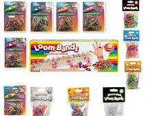 COLOURFUL LOOM RUBBER BANDS BRACELET MAKING KIT TWISTZ BANDZ DIY KIT/WATCH KIT