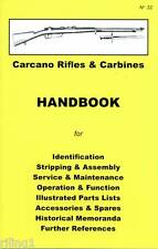 Carcano Rifle & Carbines Assembly, Disassembly Manual