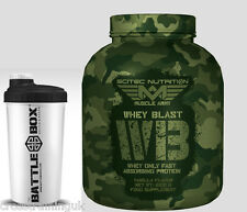SCITEC NUTRITION WHEY BLAST Whey only fast absorbing protein BCAA  L-Leucine
