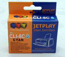 1 Canon CLI-8c CYAN Chipped Compatible Ink Cartridge