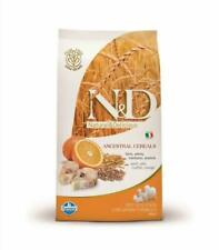FARMINA N&D LOW GRAIN CANE ADULTO MERLUZZO E ARANCIA FORMULA MEDIUM