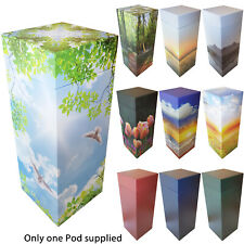 NEW! ScatterPod - Scattering & Eco Friendly Adult Cremation Urn -Various Designs