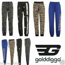 LADIES WOMENS TRACKSUIT FLEECE BOTTOM JOGGING PANTS RUNNING GYM JOGGERS TROUSER