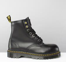 Dr Martens Mens Womens Ladies Metal Toe Industrial Safety Lace-Up Boots Black