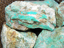 3000 Carat Lots of Turquoise Rough - Plus a FREE Faceted Gemstone