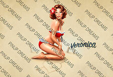 Classic Poster Vintage Retro Peter Driben Pin-up Art Reprint Lovely Pin-up A4 A3