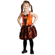 Costume Petit Citrouille Taille 104 - 140 Carnaval Ou Halloween Robe