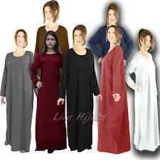 "Ladies Traditional Plain Pocket Abaya/ Borka in size 52"" 54"" 56"" 58"" (4 Colours)"