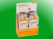 (40,20€/kg)   Squeezy Energy Gel Box Tomato - 12 Gels a 33g