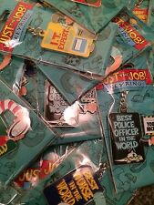BRAND NEW JUST THE JOB NOVELTY KEYRING  12 CHOICES