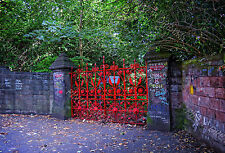 Strawberry Fields Forever Famous Gates, Liverpool Digital Photography