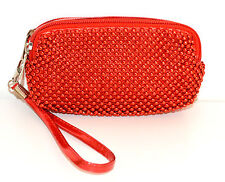 BORSELLO MINI pochette ROSSA donna ragazza borsellino da borsa clutch bag 1150