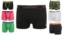 Lonsdale 2 Pack Mens Trunks, Boxer Shorts, Underwear, New Boxers, All sizes