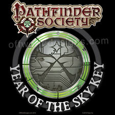 New T-Shirt Pathfinder Society RPG Year of the Sky Key OffWorld Designs