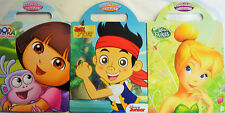 Disney Fairies, Jake the Pirate or Dora Carry Along Activity Book Free Uk Post