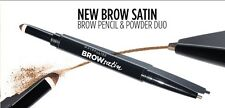 Maybelline *Brow Satin* Eyebrow Sculpting Duo Pencil & Filling Powder ALL SHADES