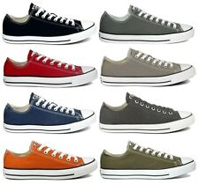 Converse All Star Low Chucks Sneaker 39,40,41,42,43,44,45 blau rot taupe grau