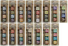 Tim Holtz Ranger Mini Distress Ink Pad Kits & Storage Tin (All kits from 1-15)