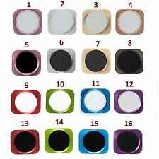 Replacement Aluminium Metal Home Button Menu Button 5S Style For iPhone 5C