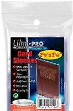 ULTRA PRO SOFT SLEEVES *CHOOSE YOUR QUANTITY* SUITABLE FOR POKEMON MTG YUGIOH