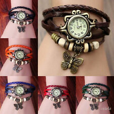 Fashion Butterfly Bracelet Watch Quartz Movement Wrist Watch for Girl Women New