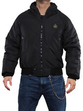 REFRIGIWEAR ARCTIC  BOMBER  HOOD JACKET NERO G451 0199 Giacca Giubbotto Invernal