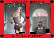 Ann Summers Sexy Bobbie Set- Fishnet Vest & Sex Bomb Pants/Suspender Valentines