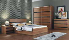 Bedroom furniture set suite wardrobe bedside chest of drawer bed frame bedside