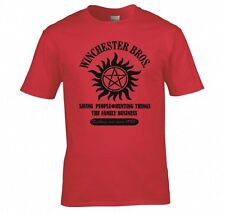 "SUPERNATURAL ""WINCHESTER BROS FAMILY BUSINESS"" T SHIRT"