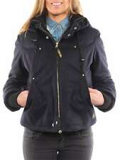 RICHLU SHORT TIGHT FIT JACKET BLU NAVY W507-9426 giacca invernale piumino donna