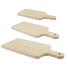 Madera Tabla de cortar natural Tablero bocadillo Plato Decoración