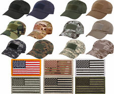 SPECIAL FORCES Low Profile Tactical Operator Cap & American Flag Patch