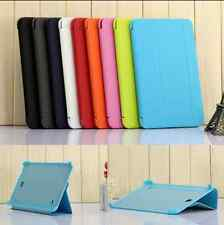 Folding Leather Flip Cover Cases Pouch For Samsung Galaxy Tab 3/ 3 Neo/ 4 Tablet