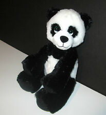 Musical Panda Bear, 9 Inch Plush Stuffed Animal - Black and White