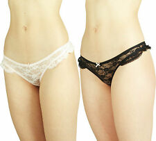 New Ladies Thongs Sexy Underwear Womens Knickers Panties Lace Lingerie G String