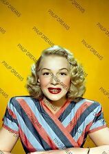 Vintage A4 Photo Poster Wall Art Print of Lovely Movie Stars Legend Betty Hutton