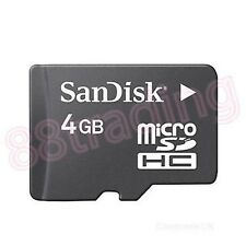 New 4GB San Disk Micro SD + Memory Card Reader FOR SAMSUNG GALAXY TABLET SERIES