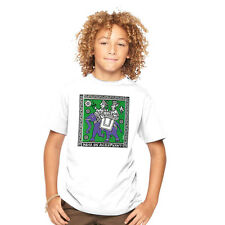 Kids Summer 100% Cotton Branded Tantra India on an Elephant Crew Neck Tshirts