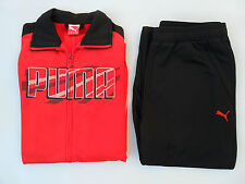Boys tracksuit Junior Puma 'Graphic Poly' Track Suit