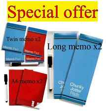Economy Fridge Magnet Memo/shopping Pads & magnetic pen 3 sizes available.