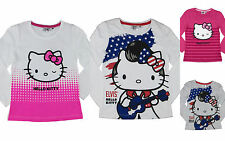 HELLO KITTY / ELVIS Langarm shirt    Mädchen t-shirt  Gr 98-104-116-128