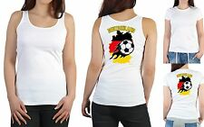Damen Fussball T-Shirt - Damen Sport Top - Frauen Fussballshirt Damen Tank Top