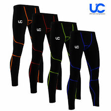 UC Mens Compression Base Layer Pant Legging Tight Under Body Armour Bottoms