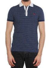 FRED PERRY POLO STRETCH SLIM BLU PACIFICO 30172054 polo uomo