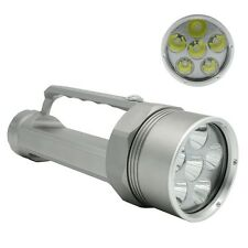 New 100m Dive 9800Lm 6xCREE XM-L2 LED Diving Flashlight Torch Underwater Lamp UK