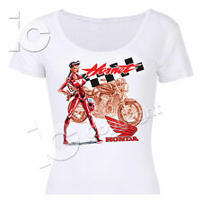 T-Shirt Hornet Honda Donna Maglia Women Racing Naked